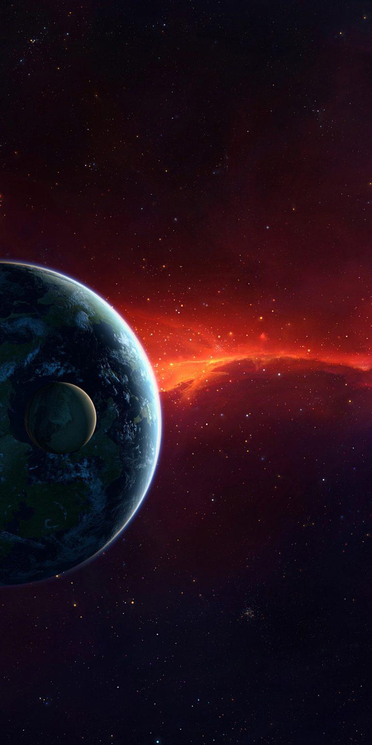 Planets Ultra HD Wallpaper 1080x2160 768x1536