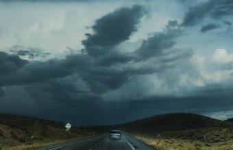 Road Clouds Auto Traffic Wallpaper 2160x3840 340x220