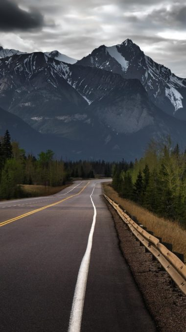 Road To Mountains Hd Wallpaper 1080x1920 380x676