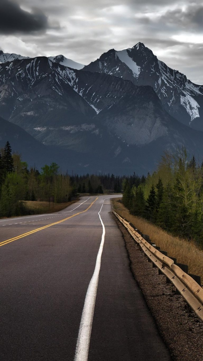 1080 x 1920 wallpaper road: Road To Mountains Hd Wallpaper