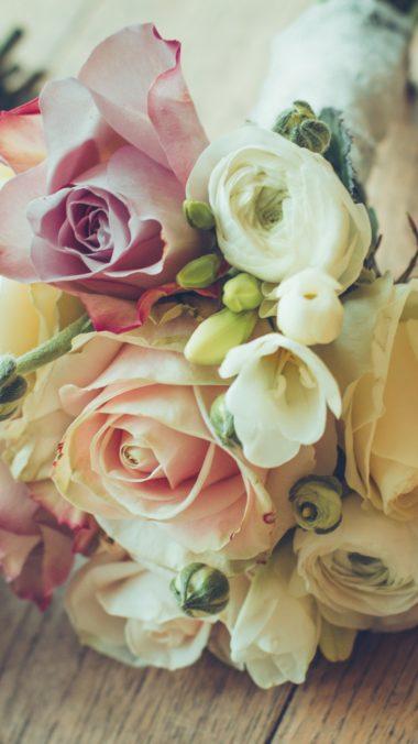 Roses Bouquet Composition Design 380x676