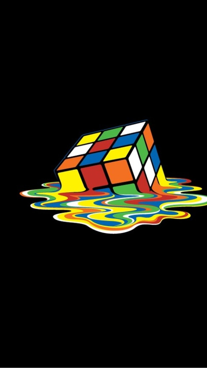 rubiks cube 2 wallpaper- [720x1280]
