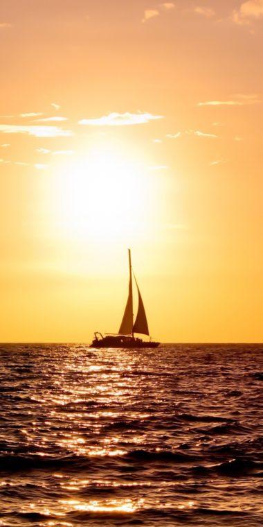 Sailboat Ultra HD Wallpaper 1080x2160 380x760