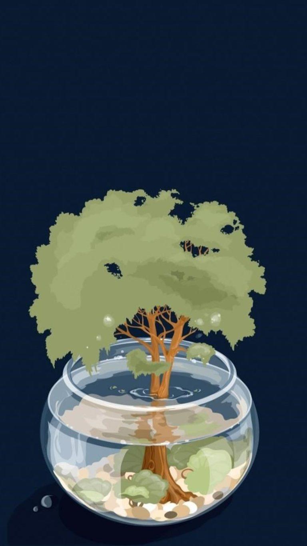Save Trees Artwork Qhd Wallpaper 1080x1920 768x1365