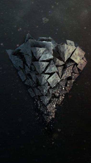 Shards Stone Background Light 380x676