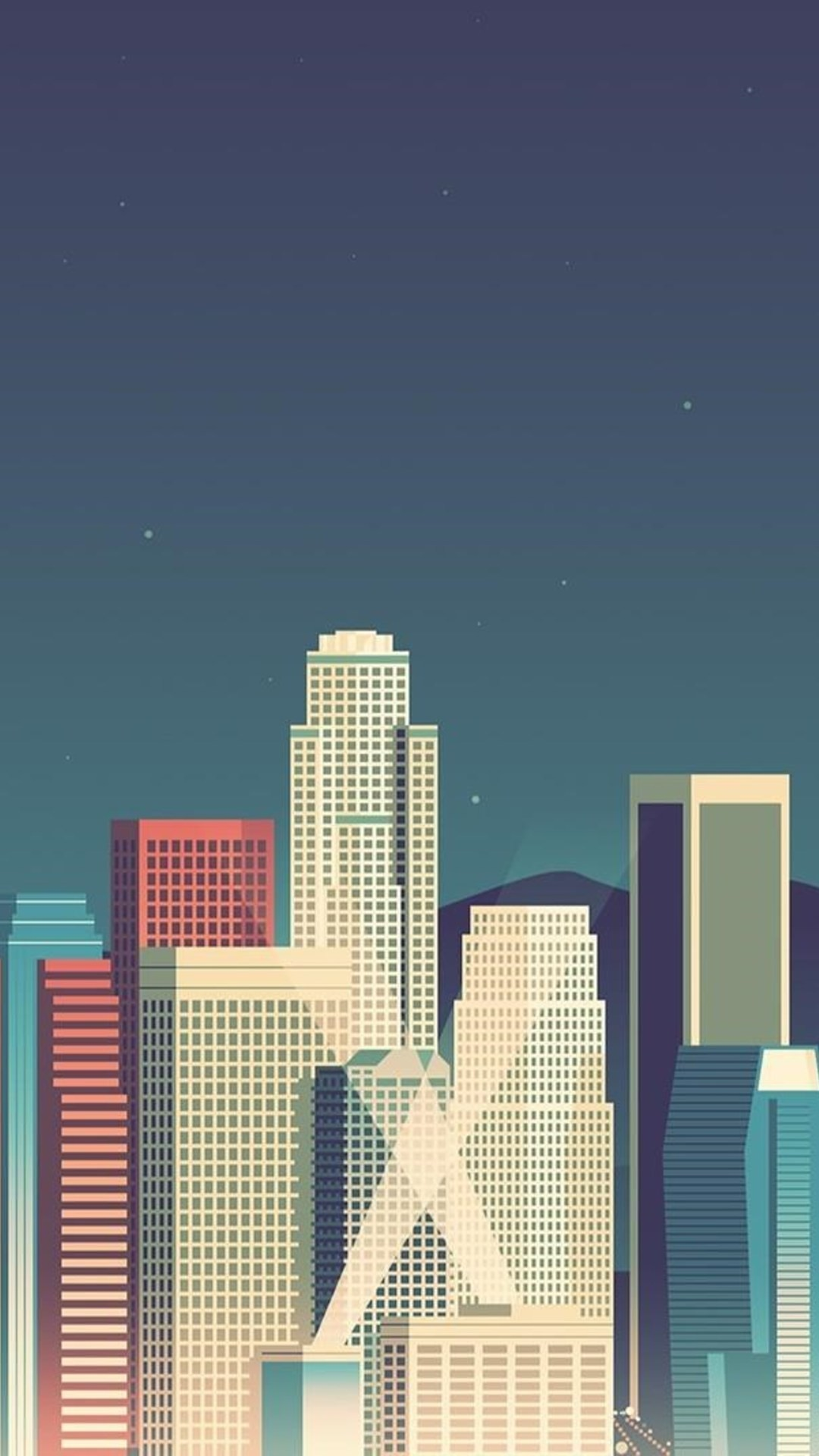 Skycrapper Minimalism Wallpaper – [1080×1920]