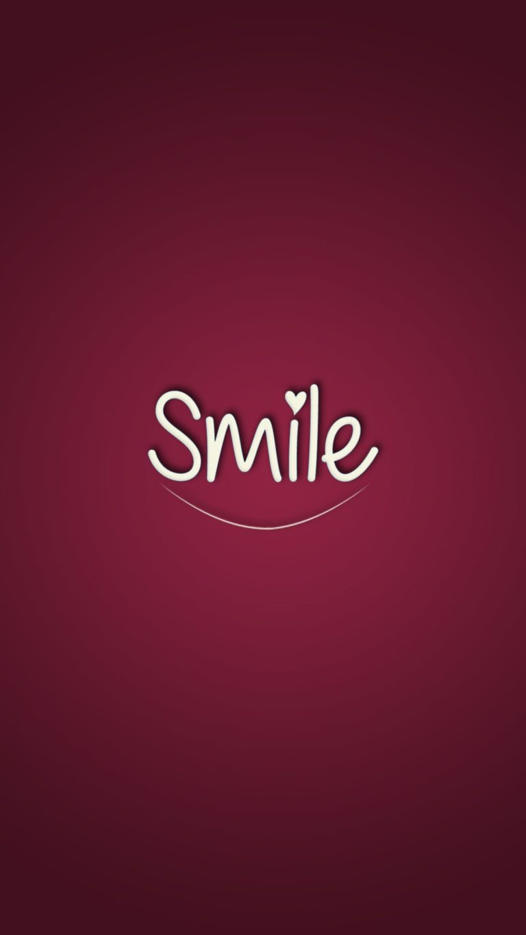 Smile Wallpaper 1080x1920 768x1365