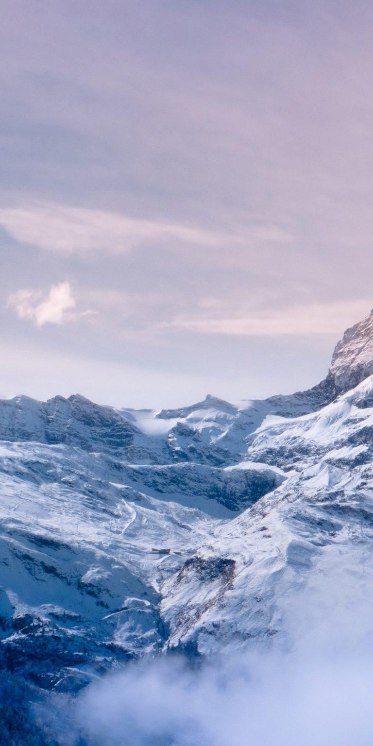 Snow Mountain Ultra HD Wallpaper 1080x2160 768x1536