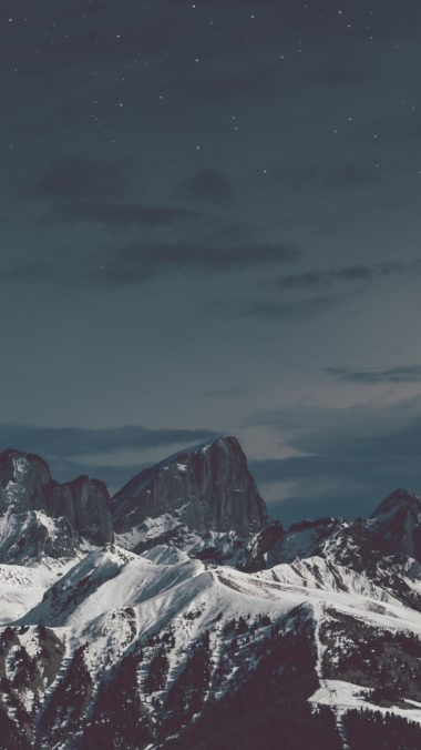 Snow Mountains Stones S3 Wallpaper 720x1280 380x676