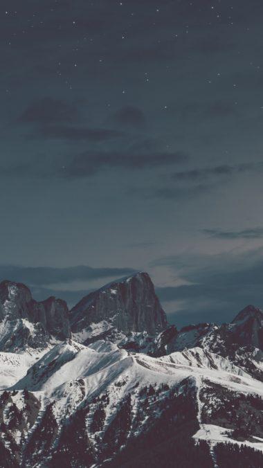 Snow Mountains Stones S3 Wallpaper 720x1280 380x676