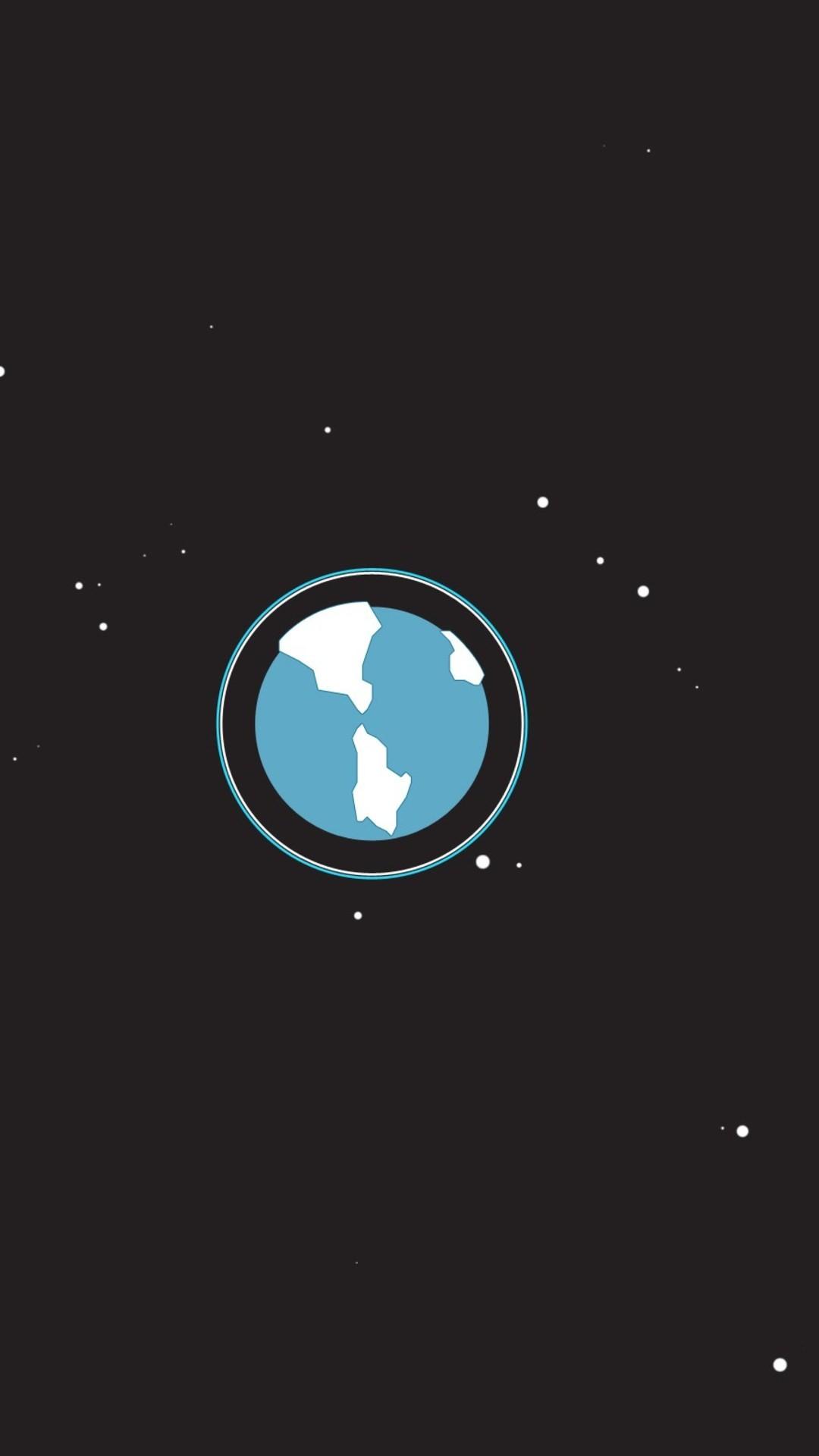 Space Minimalism Wallpaper - [1080x1920]