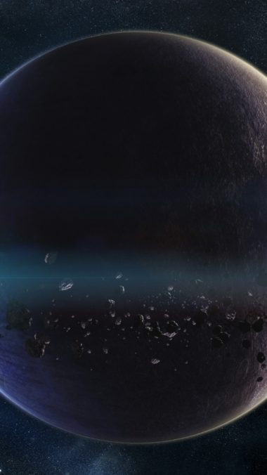Space Planets Asteroids Stars Belt Galaxy 380x676