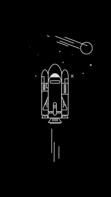 Spaceship Minimalism 0g Wallpaper 2160x3840 380x676