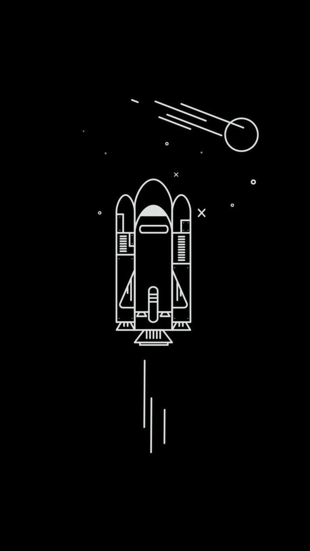 Spaceship Minimalism 0g Wallpaper 2160x3840 768x1365