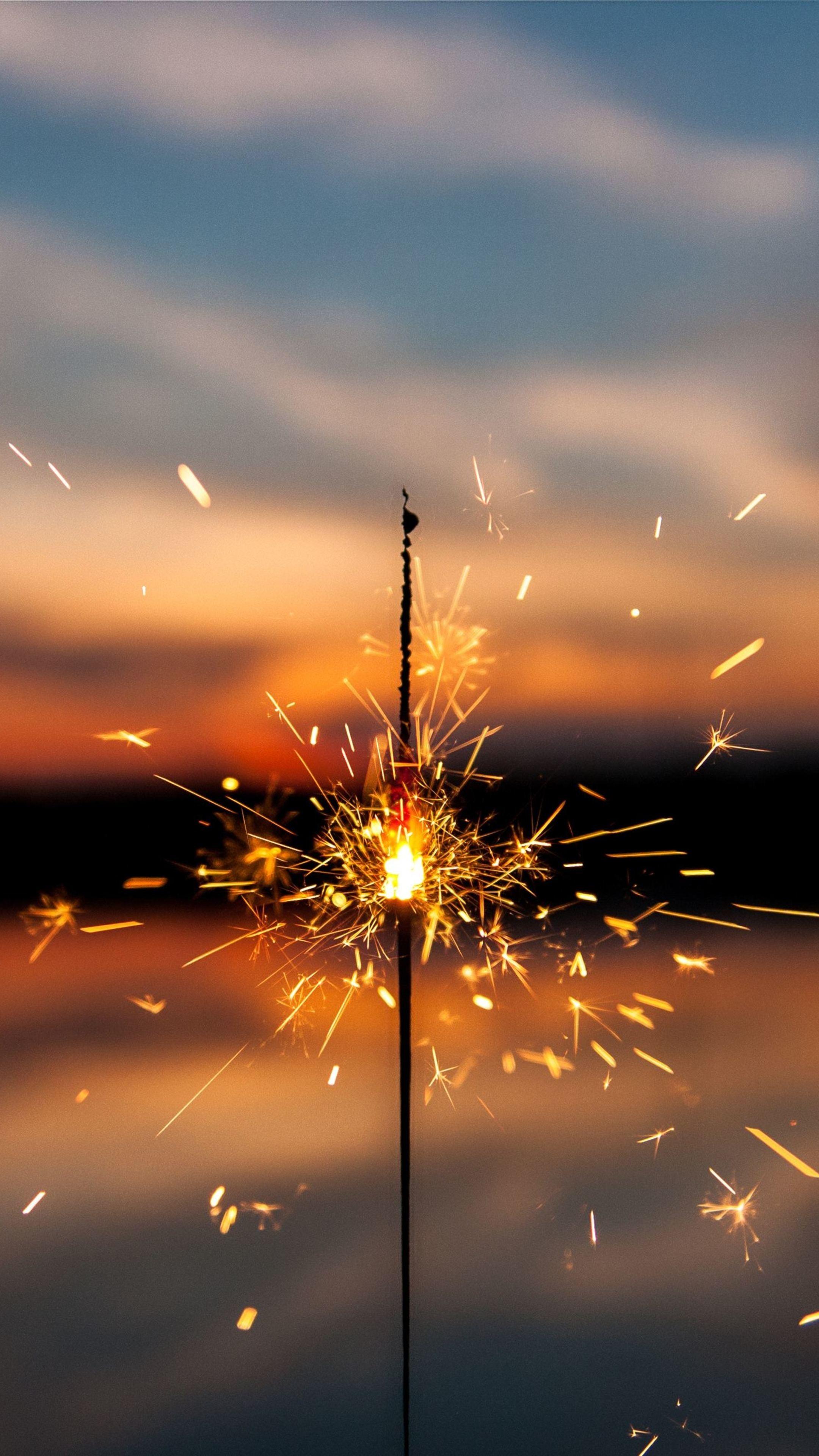 Sparkles Firework 66 Wallpaper 2160x3840