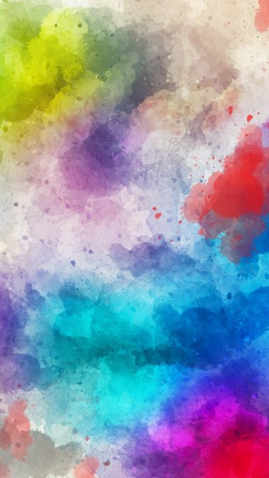 Stains Watercolor Paint Abstraction Wallpaper 720x1280 380x676