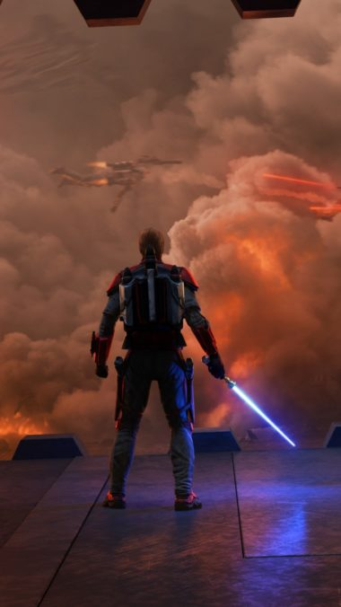 Star Wars Siege Of Mandalore Cs Wallpaper 1080x1920 380x676