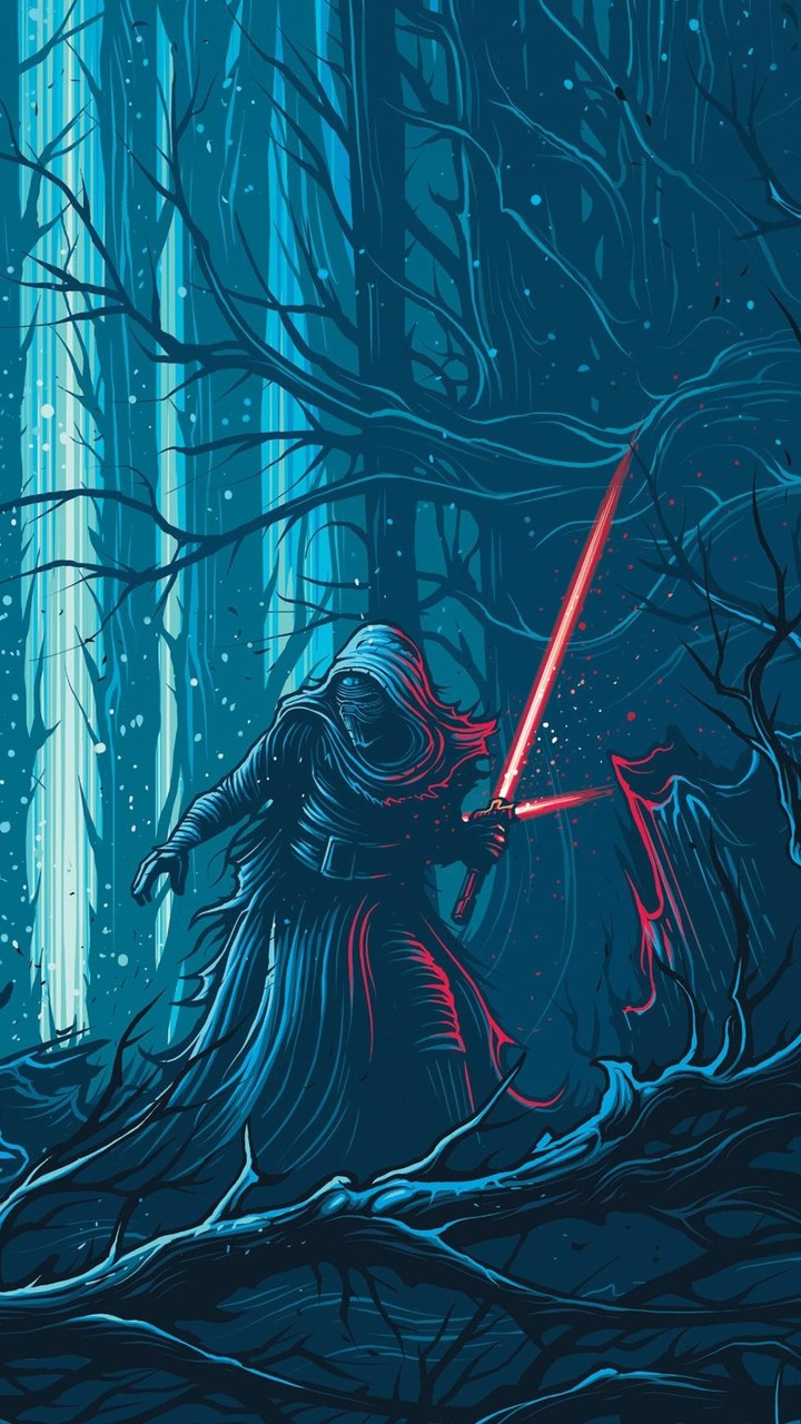 720 x 1280 wallpaper maker: Star Wars The Force Awakens Wallpaper- [720x1280]