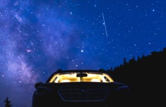 Starry Sky Night Car Wallpaper 720x1280 340x220