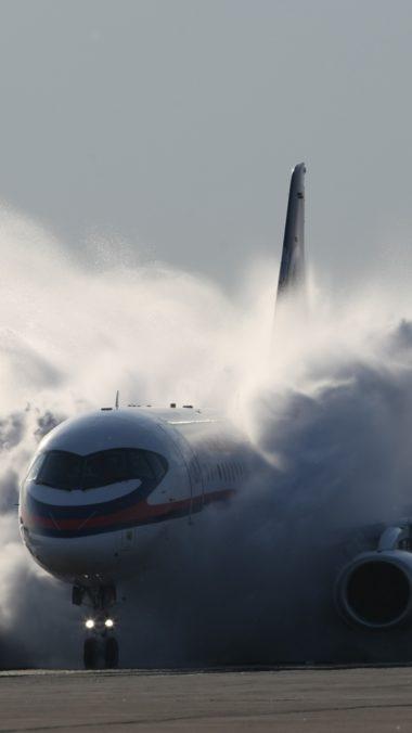 Sukhoi Superjet 100 Aircraft 380x676