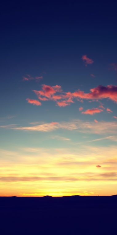 Sunset Sky Ultra HD Wallpaper 1080x2160 380x760