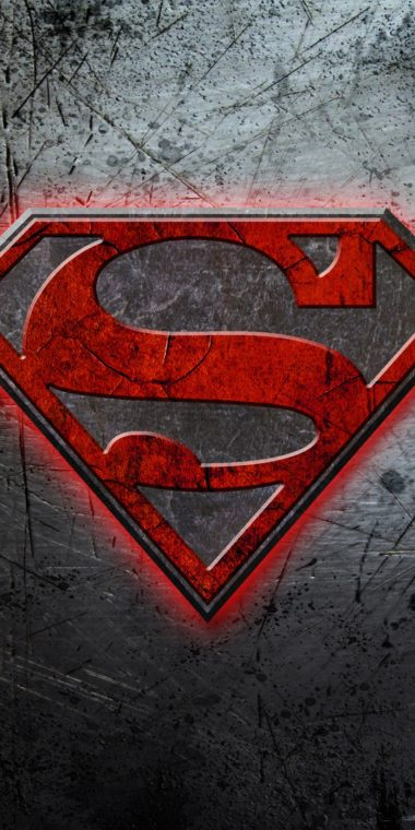 Superman Logo Ultra HD Wallpaper 1080x2160 380x760