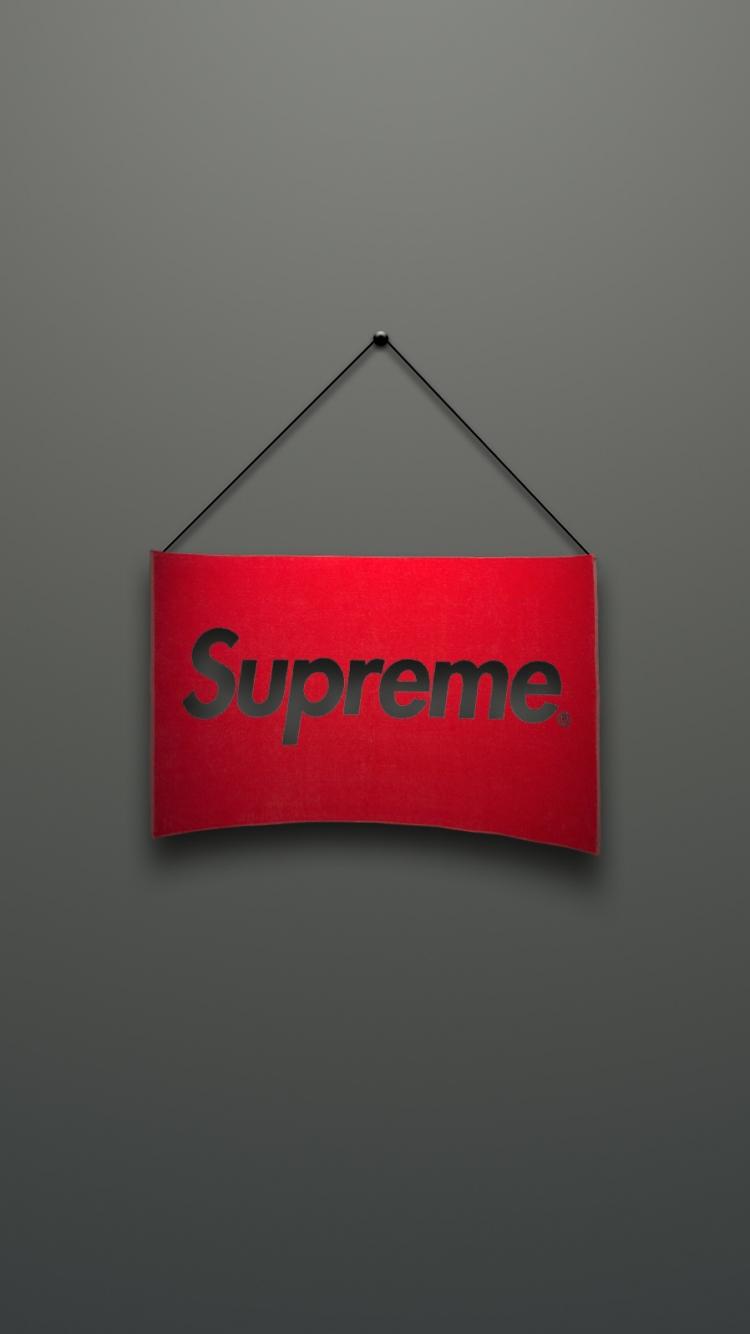 Supreme Logo Color Pages