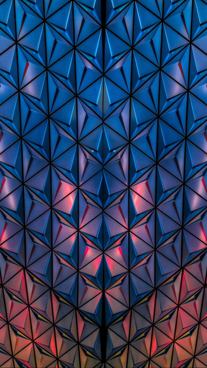 Surface Shape Light Wallpaper 720x1280