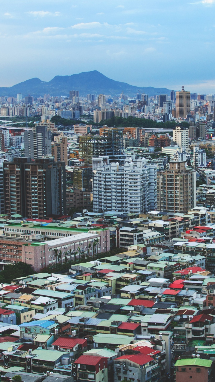 Taiwan Buildings City Wallpaper 720x1280