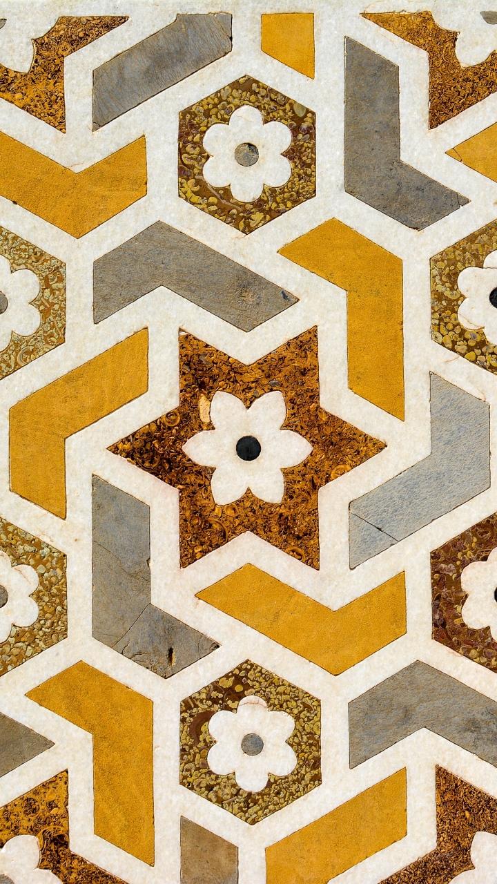 Texture Flowers Patterns Wallpaper 720x1280