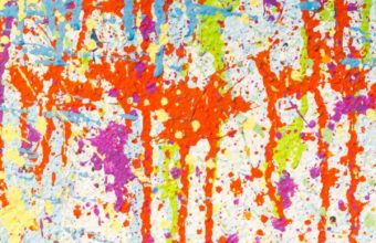 Texture Paint Stains Multicolored Wallpaper 720x1280 340x220
