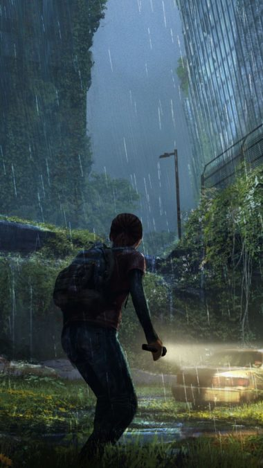 The Last Of Us Apocalypse Girl City Night 380x676