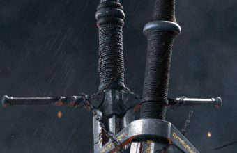 The Witcher 3 Wild Hunt Sword 10k Qg Wallpaper 2160x3840 340x220