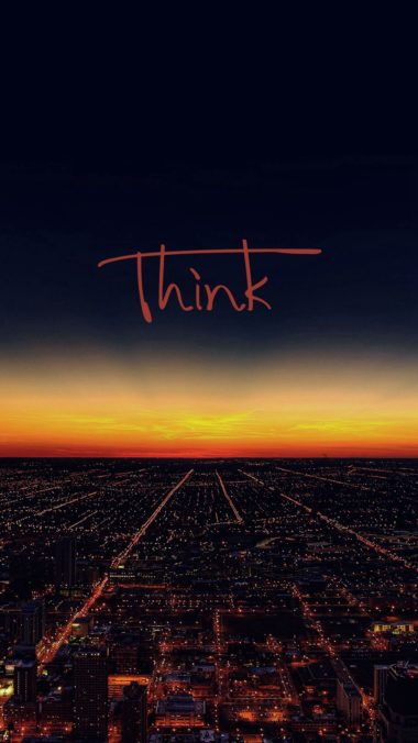 Think Wallpaper 1080x1920 380x676