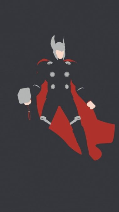 Thor Minimalism Hd Ft Wallpaper 1080x1920 380x676