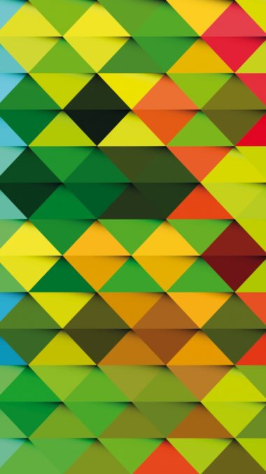 Triangle Background Colorful Texture 380x676