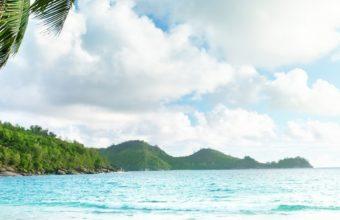 Tropical Beach View Ultra HD Wallpaper 1080x2160 340x220