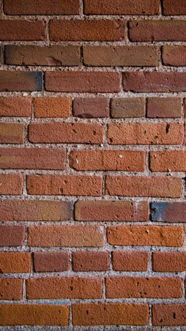 Wall Bricks Texture Wallpaper 2160x3840 380x676