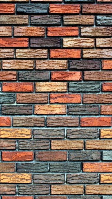 Wall Stone Brick Background Texture 380x676