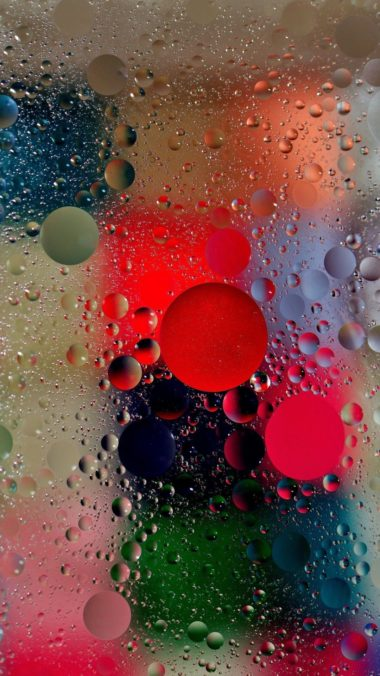 Wet Bubbles Wallpaper 1080x1920 380x676