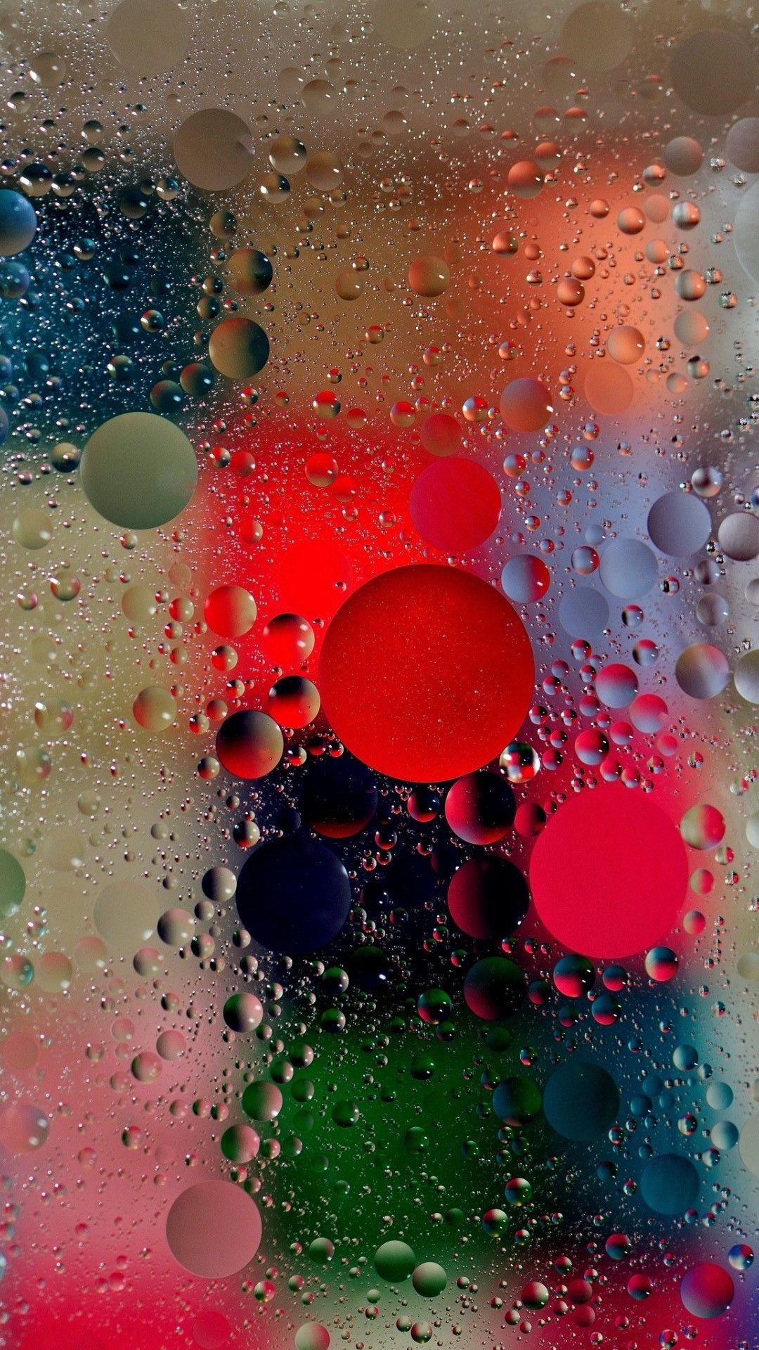 Wet Bubbles Wallpaper
