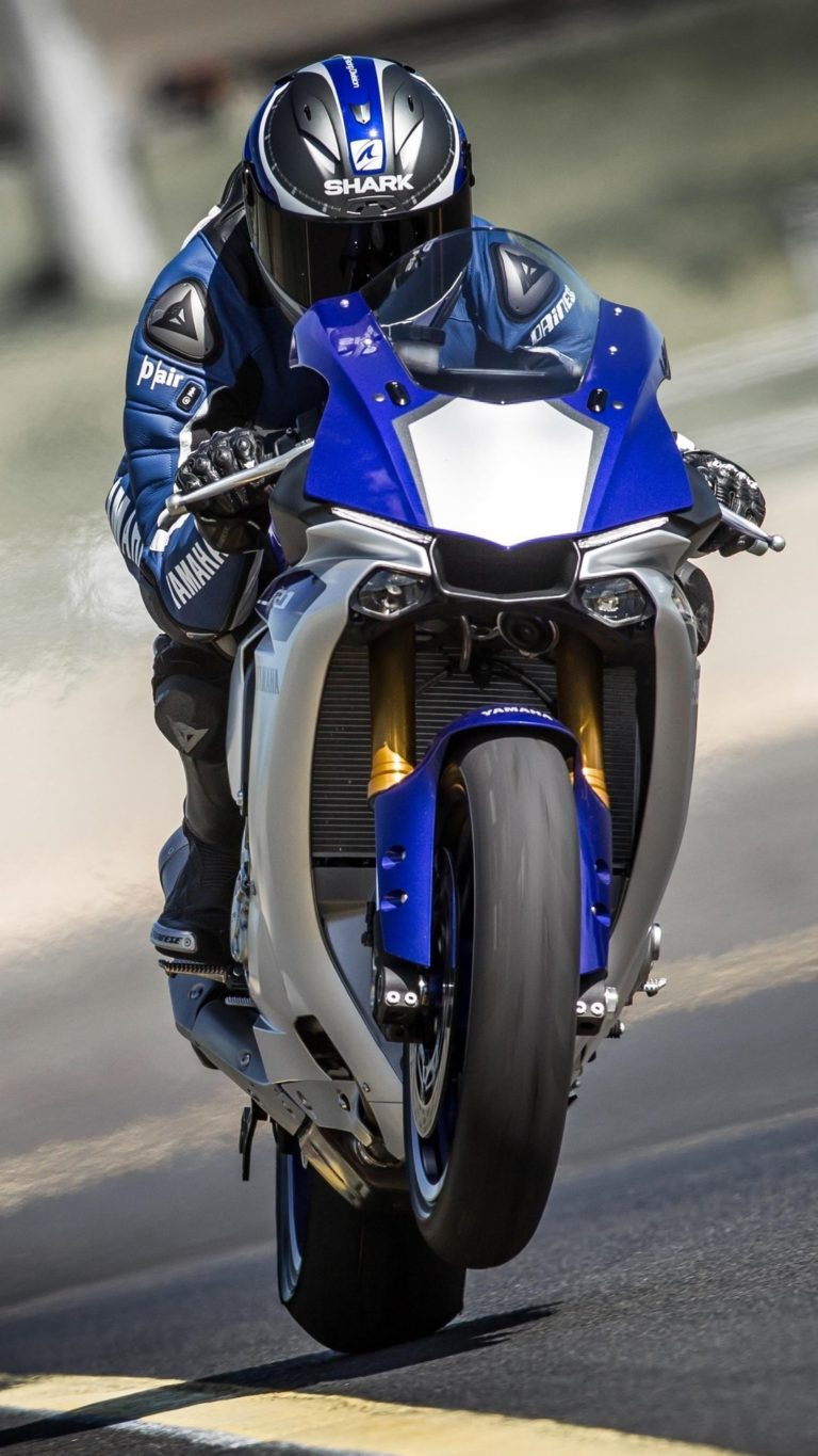 Yamaha Yzf R1 2016 Wallpaper 1080x1920 768x1365