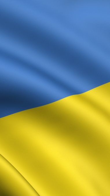 Yellow Blue Flag Ukraine 380x676