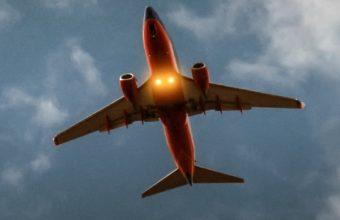 Airplane Sky Clouds Flight Wallpaper 1440x2560 340x220