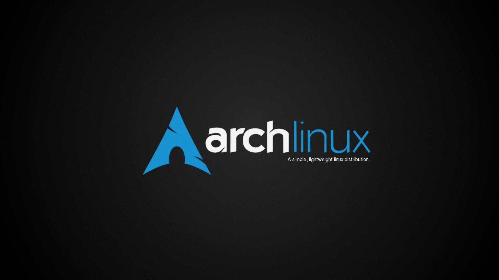 arch linux wallpaper 02 - [1600x900]