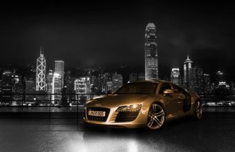 Audi R8 Desktop Wallpaper 04 1920x1200 340x220