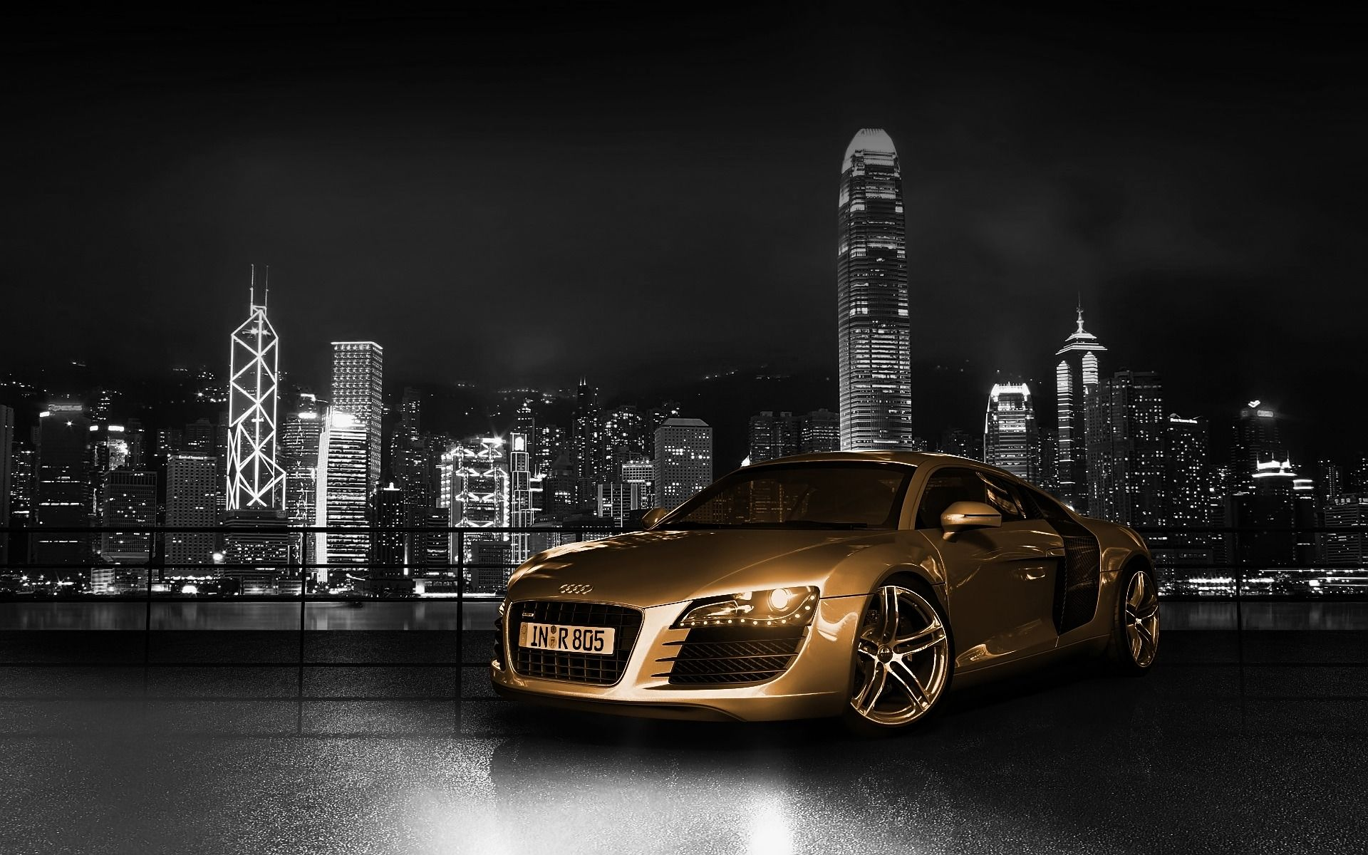 Audi R8 Desktop Wallpaper 04