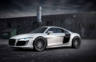 Audi R8 Desktop Wallpaper 06 1920x1200 340x220