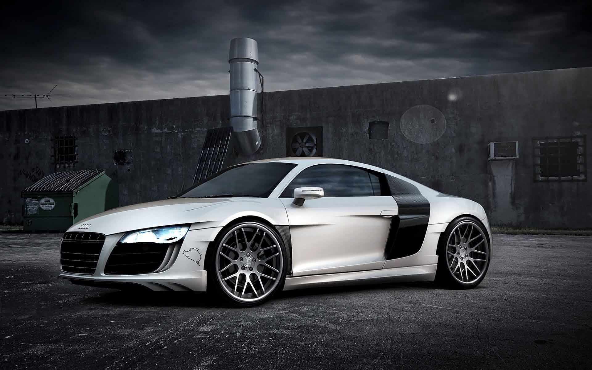 Cars Audi Roads R8 White V10 Wallpaper Allwallpaper In: Audi R8 Desktop Wallpaper 06