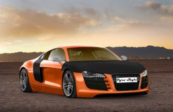 Audi R8 Desktop Wallpaper 08 1600x1200 340x220